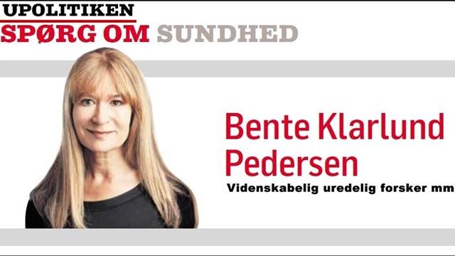 Bente Klarlund skriver endnu en af sine tvivlsomme klummer